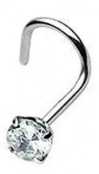 STEEL NOSTRIL DIAMANT
