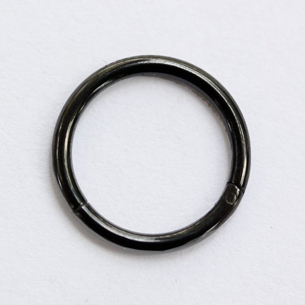 CLICKER SEGMENTRING BLACK  1,6mm