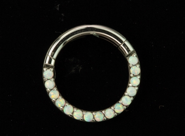 SEPTUM RING OPAL 1,2/8mm